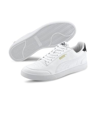 Puma Unisex Beyaz Shuffle Sneakers 30966801015 Beyaz